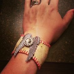 Baseball cuff bracelets by The Magic Brush, Inc.