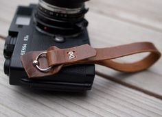 Fancy - Leather Camera Wrist Strap