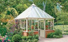 Outside the box: a greenhouse allows you to overwinter tender plants, raise from seed or extend the veg season