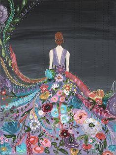 Silent Melody II Art Print – Bari J. Designs