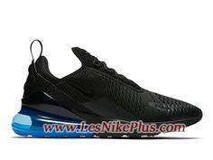 official photos ea94a 02a96 Sneaker Nike Air Max 270 Chaussures de Basket Pas Cher Pour Homme Noir Bleu  AH8050-