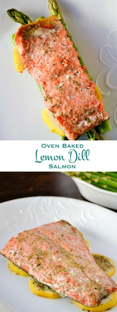 Oven baked lemon dill salmon is a quick, easy recipe that will tantalize your tastebuds and satisfy your belly any time of the day. Great for entertaining!