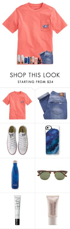 """beYOUtiful"" by nc-preppy-living ❤ liked on Polyvore featuring Nobody Denim, Converse, Casetify, S'well, Ray-Ban, NARS Cosmetics, Laura Mercier and Lord & Berry"