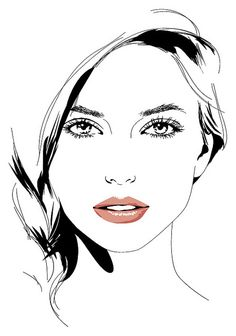 Girl Vector Portrait III by annie_stru, via Flickr