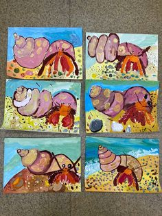 School Art Projects, Projects For Kids, Art School, Painting For Kids, Art For Kids, Kids Art Galleries, 5th Grade Art, Art Lessons Elementary, Baby Art