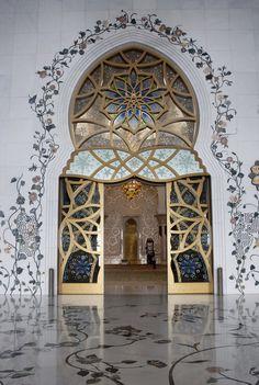 Grande Mosquée Sheikh Zayed - Abu Dhabi (Émirats Arabes Unis)