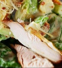 Caesar Salad-Σαλάτα του Καίσαρα Cabbage, Tacos, Vegetables, Ethnic Recipes, Foods, Drink, Food Food, Food Items, Veggies
