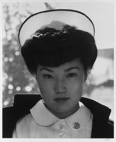 Ansel Adams is best known for his landscape photography, but during WWII he documented Japanese-Americans interned at the Manzanar War Relocation Center in California.