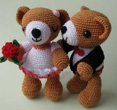 Кукляндия: Свадебные мишки