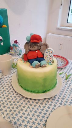Eine Benjamin Blümchen Torte für meinen Neffen