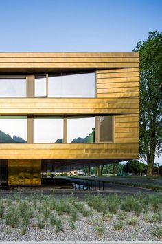 School in the Alps by Berrel Berrel Kräutler Architects Space Architecture, Contemporary Architecture, Secondary School, Entrance Hall, Alps, Facade, Tourism, Places To Visit, The Incredibles