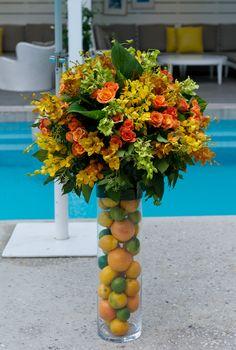 Clean & Clear Morning Burst Launch - Flower Arrangement with fruit