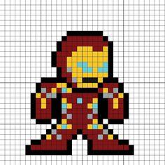 Pixel art dibujos iron man 24 ideas for 2019 Chalkboard Art Quotes, Canvas Art Quotes, Pixel Art Avengers, Infinity War, Pixel Art Minecraft, Iron Man, Image Pixel Art, Marvel Cross Stitch, Art Projects For Adults