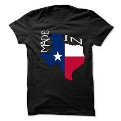 Made in Texas T Shirts, Hoodies. Check price ==► https://www.sunfrog.com/LifeStyle/Made-in-Texas.html?41382