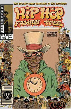 Hip Hop Family Tree - #1 - Newbury Comics Exclusive Cover Variant