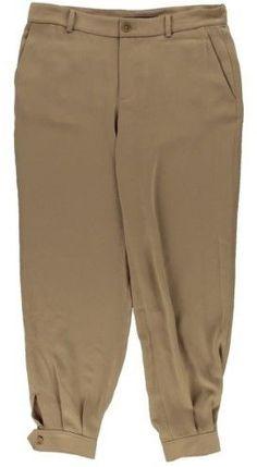 Lauren Ralph Lauren Womens Crepe Casual Jogger Pants