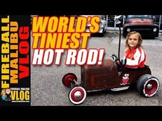 WORLD'S SMALLEST HOT ROD! - FIREBALL MALIBU VLOG FIREBALL'S BOOKS ON AMAZON! http://ift.tt/2faxJCq FIREBALL'S BLOG! http://ift.tt/12aPqeo FIREBALL MALIBU VLOG - Inspiring you to BREAKOUT! Do WHAT YOU LOVE and LOVE WHAT YOU DO! WORLD'S SMALLEST HOT ROD! - FIREBALL MALIBU VLOG - Fireball and Ken head to Donut Derelicts and spot Bruce Meyer from the Petersen Museum and the World's Smallest Hot Rod! Plus some great book inspiration! THE VLOG STORE IS OPEN! Snag one of Fireball's new HATS & MUGS…