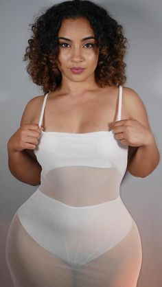 Growing Facial Hair, Women's Wrestling, Sexy Curves, Full Figured, Sexy Lingerie, Thighs, Curvy, Bodysuit, One Piece