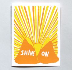Shine On Card | Xenia Taler