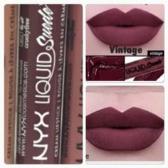 Brand new full size sealed tube of NYX Liquid Suede Lipstick. Very hard to find in stock. Usually sold out. The color is Vintage ❤️