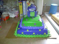 Barney Birthday Cake Barney Birthday Cake, Barney Party, 3rd Birthday, Birthday Ideas, Birthday Parties, Teddy Toys, Fun Cakes, Girl Stuff, Amazing Cakes