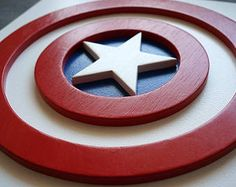 Descuento del 50% del envío, superhéroe Capitán América, arte de la pared, arte de pared de dormitorio de los niños