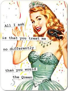 It's really not much to ask is it? Signs You're a Sassy Bitch: http://bitchlifestyle.com/2011/05/signs-youre-a-sassy-bitch/ Pic from Bella Foto http://bellafoto.tumblr.com/