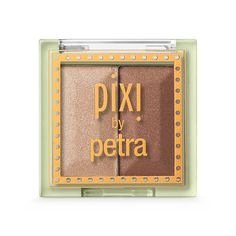 Pixi by Petra Mesmerizing Mineral Eye Duo in Apricot Glow / Weight: 0.03 oz / unopened