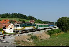 RailPictures.Net Photo: 754 045 3 Ceske Drahy CD 754 at Trisov, Czech Republic by Jaroslav Dvorak