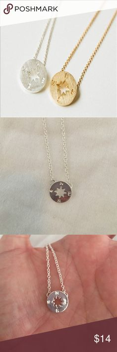 Wanderlust necklace Delicate compass necklace.  No trades please! Jewelry Necklaces