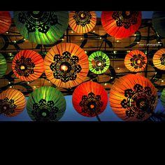 Chinese lanterns  Photo By: Cheryl Chan