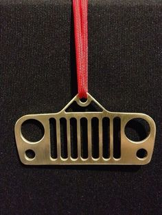 Jeep Christmas Tree Ornament