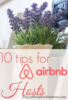 Want to earn extra money as an Airbnb host? Check out 10 Tips for Airbnb hosts to get you started and keep you going as a successful host.