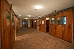 The Stables at Turtle Lake in Bloomfield Hills, Michigan - stable interior