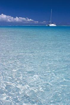 'Bora Bora, French Polynesia (Michele Falzone)' by Jon Arnold Images