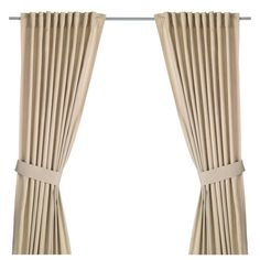 INGERT Curtains with tie-backs, 1 pair - 145x250 cm - IKEA