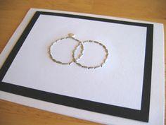 Wedding Hand-Stitched Greeting Card