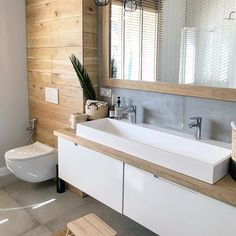 Setup New # Setup – Ensuite Bathroom – Setup New # Setup – Privatem Badezimmer – Ensuite Bathrooms, Bathroom Spa, Wood Bathroom, Small Bathroom, Bathroom Ideas, Bathroom Organization, Remodel Bathroom, Budget Bathroom, Bathroom Renovations
