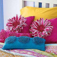 Rosette Felt Pillow | Company Kids