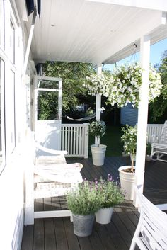 White Garden - #porch