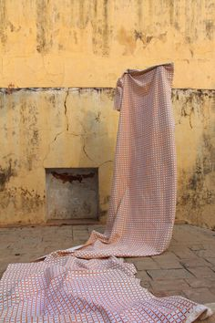 'Check Me Out' hand printed Khadi Cotton by Soda + Stitch / available through Style Revolutionary Revolutionaries, Soda, Artisan, Times, Stitch, Contemporary, Printed, Outdoor Decor, Check