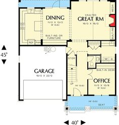 Great Style on a Budget - 6991AM | 2nd Floor Master Suite, CAD Available, Craftsman, Den-Office-Library-Study, Northwest, PDF | Architectural Designs