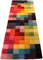 Carpet Runners With Rubber Backing Front Door Rugs, Front Doors, Patchwork Curtains, Hallway Carpet Runners, Stair Runners, Hall Runner, Hall Carpet, Flat Ideas, Contemporary Rugs