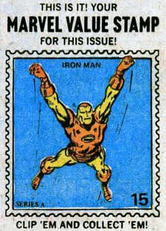iron man value stamp