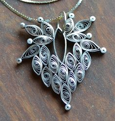 The Handwork Chronicles: Quilled jewelry (you meet the nicest people in…
