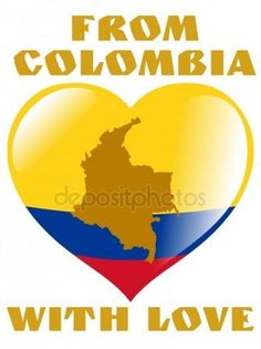 Image, Ideas, Brazil, Colombian Flag, Vector Graphics, Spirit Quotes, Flags, Writing, Hearts