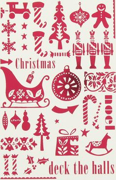 Xmas print & pattern | RevivalRepublic.com