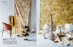 Rubelli, Weitzner, Brochier, Fadini & Pollack has been featured in ELLE Decoration Magazine this month. Page 5-6
