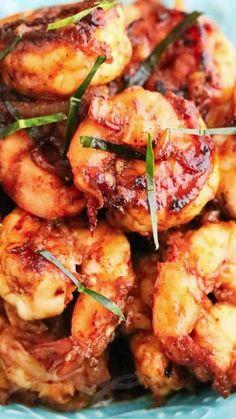 Stir-Fry Shrimp with Thai Roasted Chili Paste Recipe