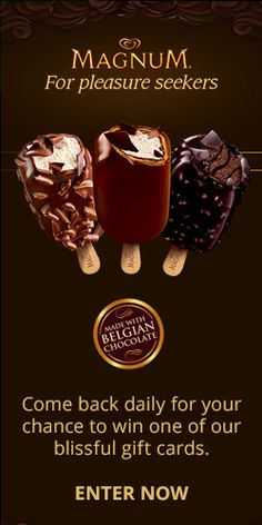Enter To Discover Chocolatey Bliss! TERRIFIC GIVEAWAY!! Enter here  http://womanfreebies.com/sweepstakes/discover-chocolatey-bliss-win-gift-cards for Your Chance! You Know I Sure Did Enter!! I WANT TO WIN THIS GIVEAWAY SO BAD!!! Thanks, Michele